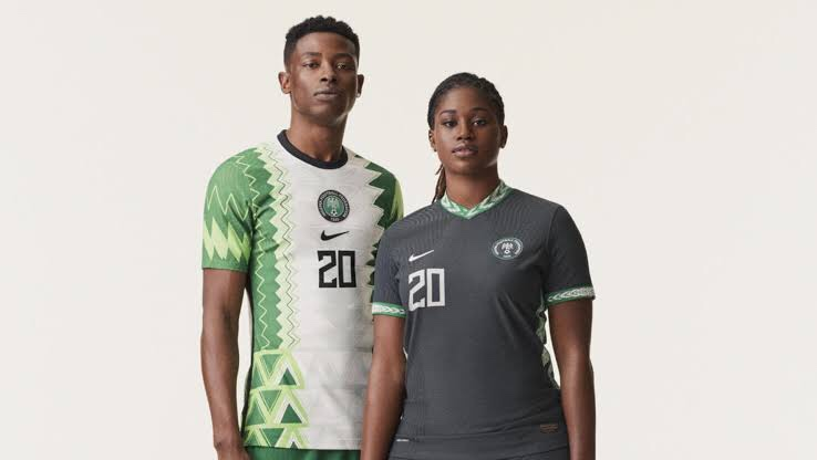 Africans Online Go Crazy for Nigeria's New Striking Home kit