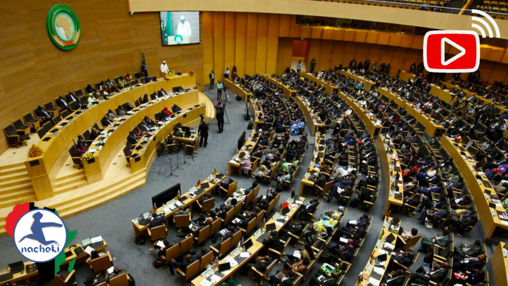 """Live at the 33rd African Union Summit in Addis Ababa : Theme """"Silencing The Guns"""""""
