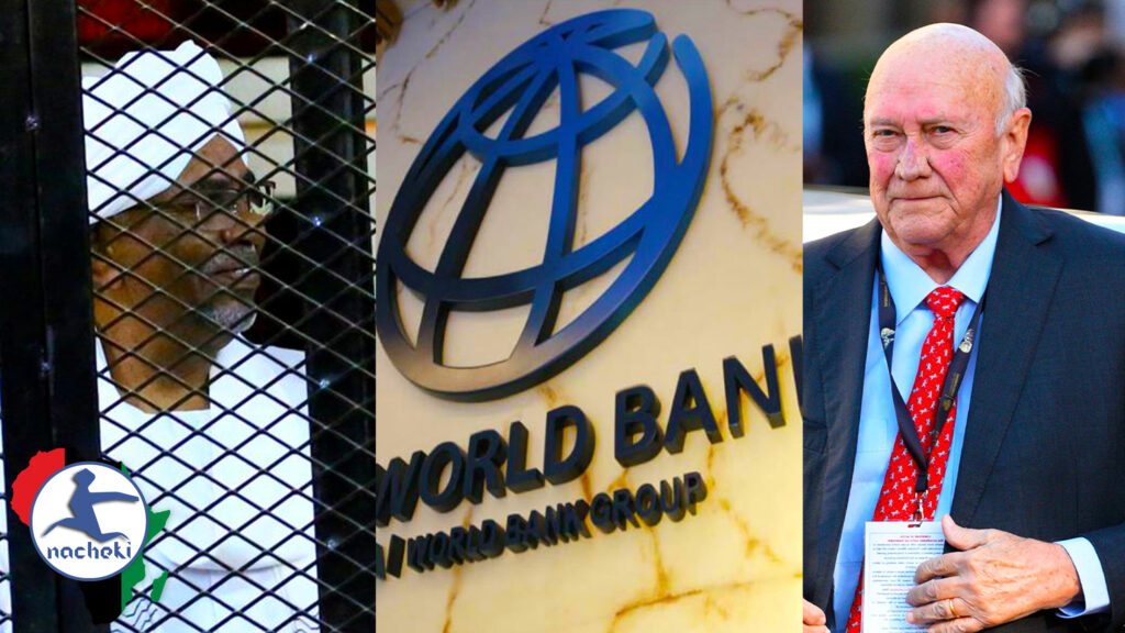 Al Bashir to ICC, FW de Klerk on Apartheid & World Bank Misleading on Africa