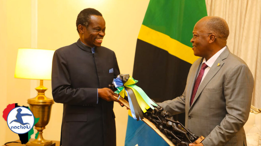 Pan Africanist PLO Lumumba Invited by Tanzanian President Magufuli to MAGULIFY Africa