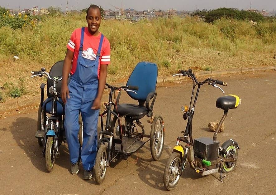 Helping Kenyans with Mobility Issues Live More Independent Lives