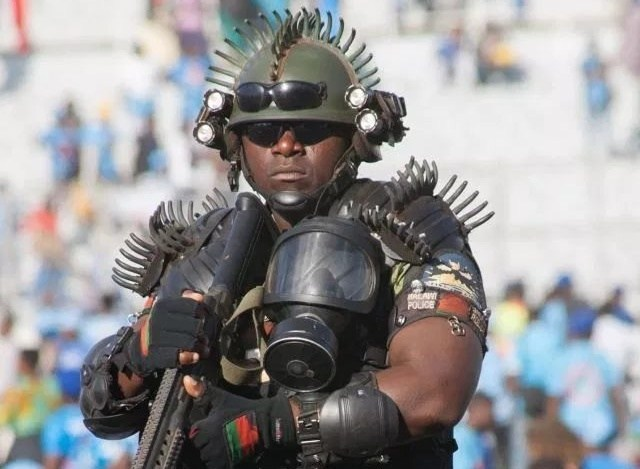 Malawi's Presidential Bodyguard Dubbed World's Scariest [Photo]