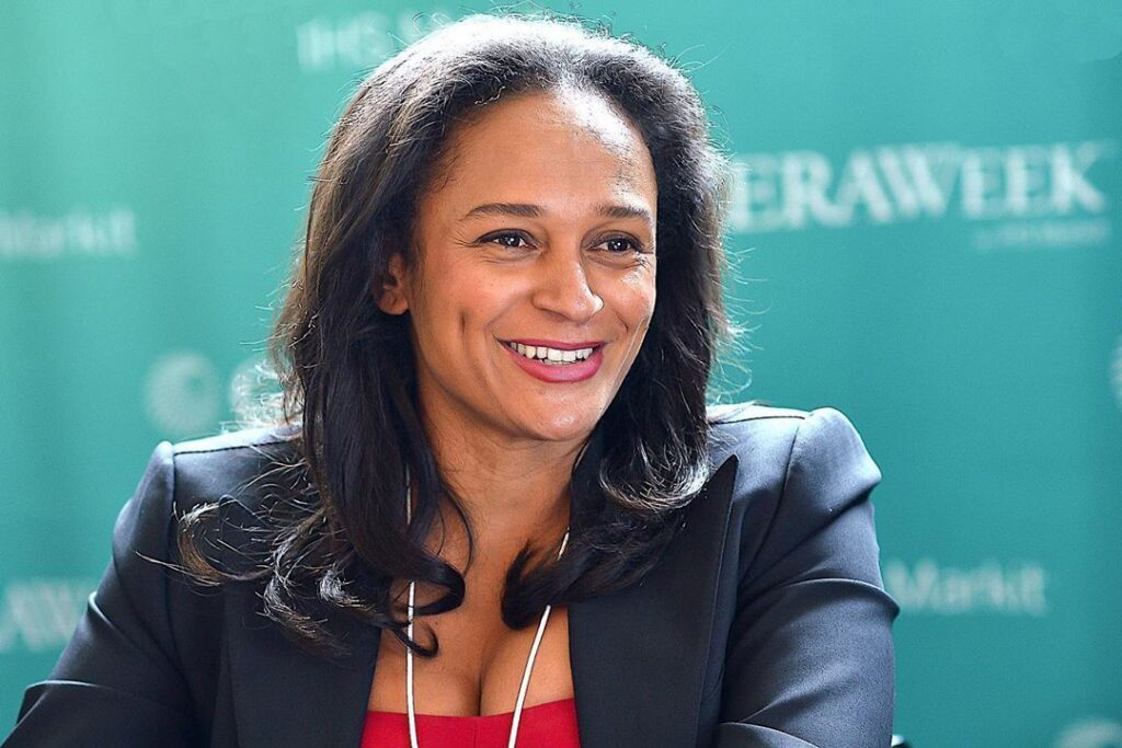 Portugal Freezes Bank Accounts Belonging to Africa's Richest Woman 'Isabel dos Santos'