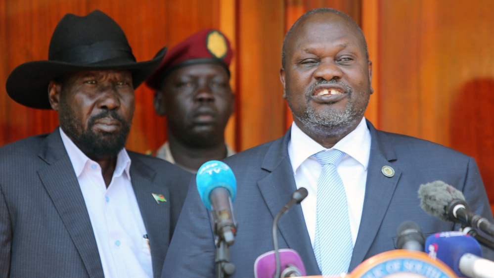 South Sudan's rival leaders form coalition government