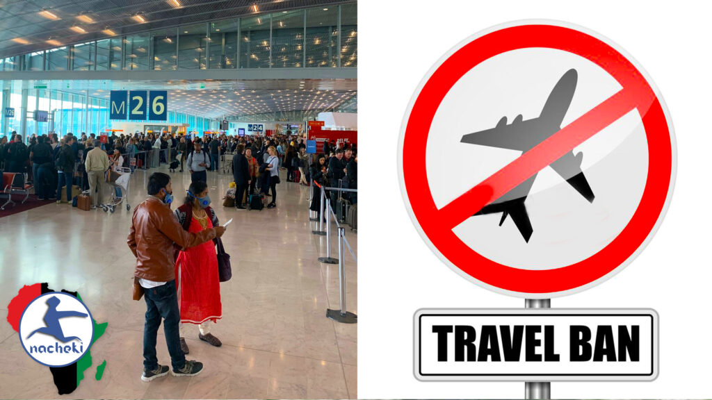 African Countries Announce Travel Bans to Europe, USA and the UK