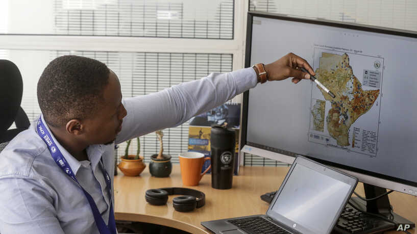 A Supercomputer Boosts Efforts in East Africa to Control a Locust Outbreak