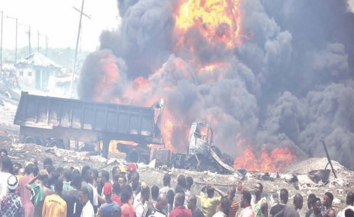 School Children Among the Dead in Lagos Explosion