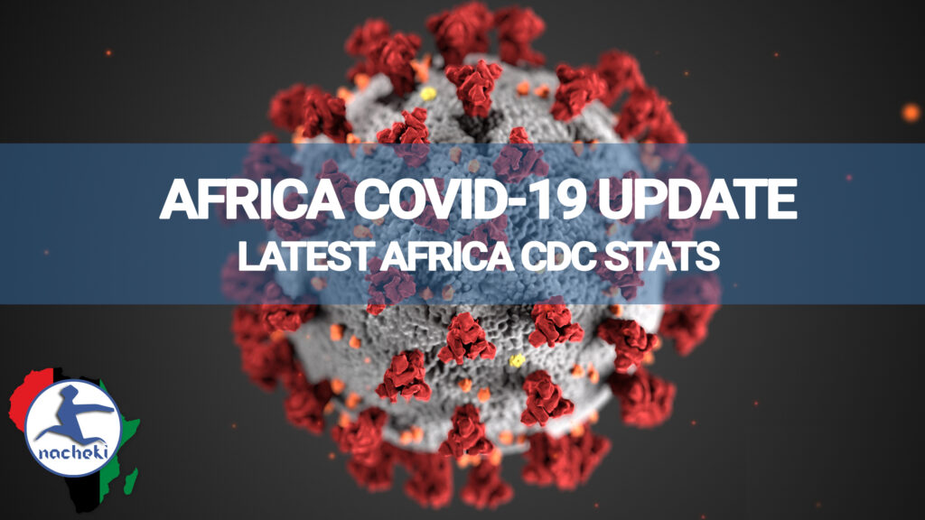 Latest Covid-19 Africa Stats Update by Africa CDC 10th April