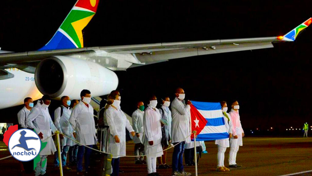 Cuban Doctors Arrive in South Africa to Help Fight the Coronavirus Pandemic