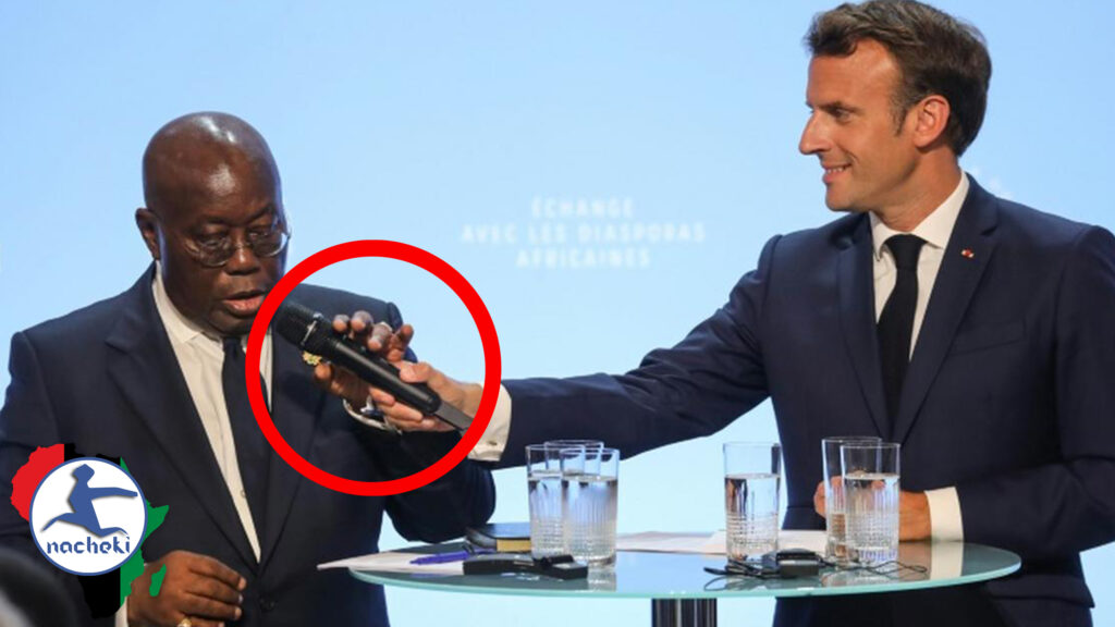 Ghana's President Full Speech Dissing Macron is a Testament to the New Africa