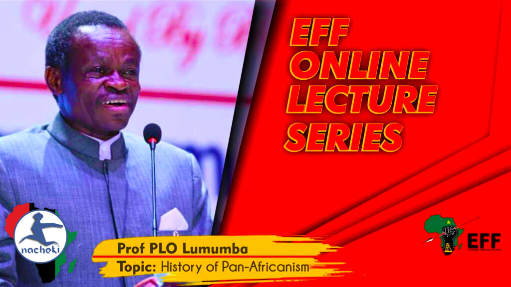 Julius Malema Stunned by this PLO Lumumba's Lecture on the History of Pan Africanism