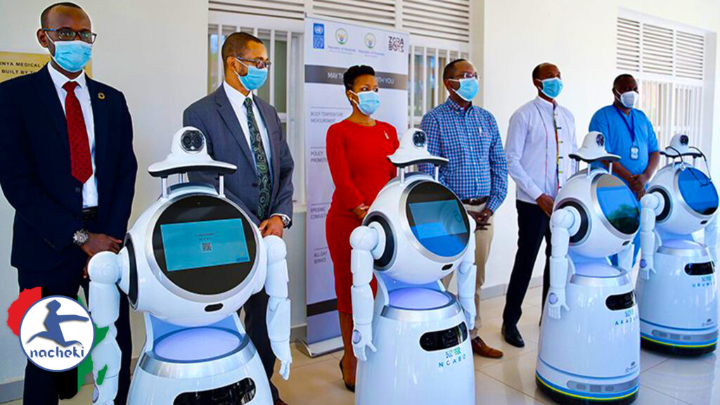Rwanda now Using High Tech Robots in the Fight against COVID-19