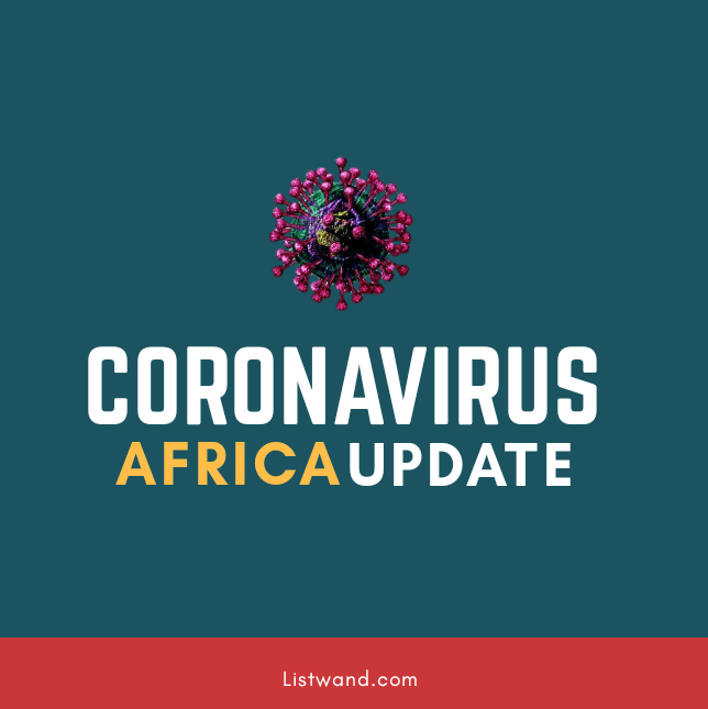 Coronavirus in Africa: 91,514 Cases; 2,906 Deaths; 35,843 Recoveries (Updated)