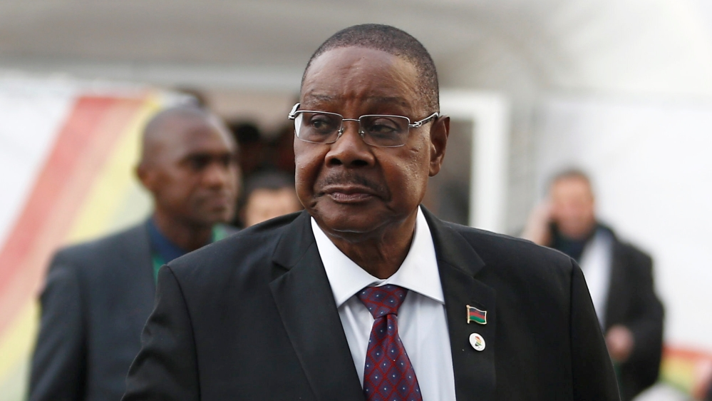 Malawi president files for election rerun with ex-leader's son