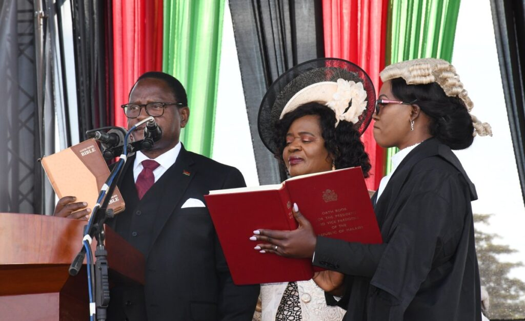 Malawi's New President Chakwere Vows Unity to Fight Poverty