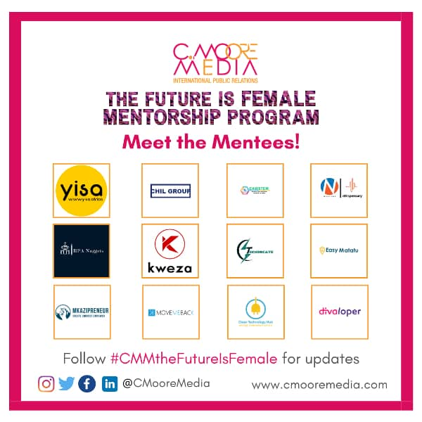 12 African Female Founded Tech Start-ups Selected For The Future Is Female Mentorship Program