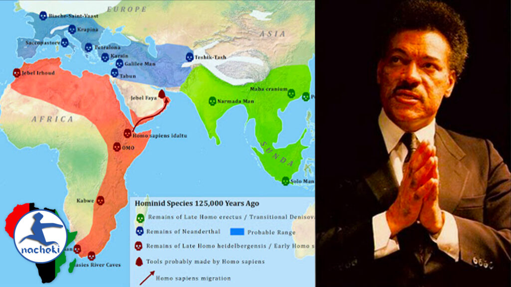 African People Roamed the Earth 55,000 Years Before Anyone Else – Dr. Ivan Sertim