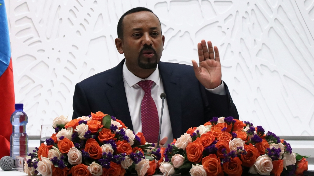 Ethiopia's Abiy hails 'historic' start of disputed dam filling
