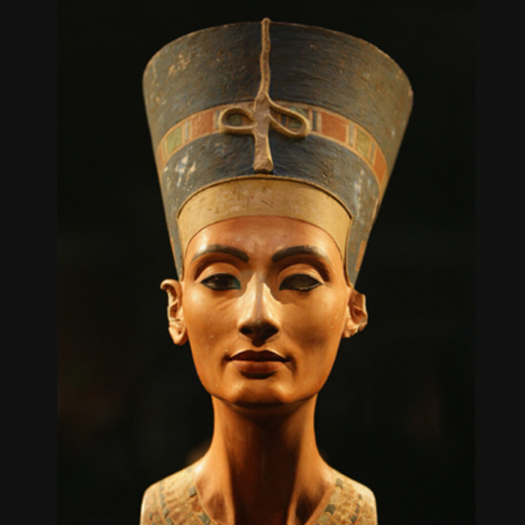 African Queen Nefertiti the Great Royal Wife of the Pharaoh