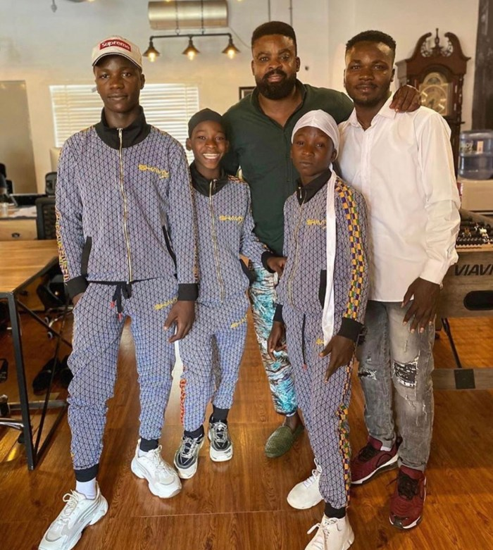 Netflix Gifts Nigerian teenagers filming equipment after they made a re-make of the film Extraction.