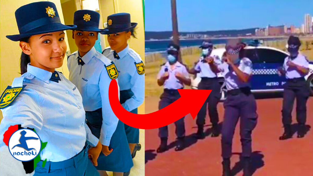 Watch Female South African Police Doing the #JerusalemaDance Challenge