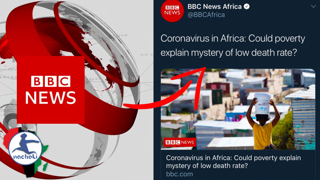 BBC Boldly Claims that Africa's Coronavirus Success is Due to Poverty