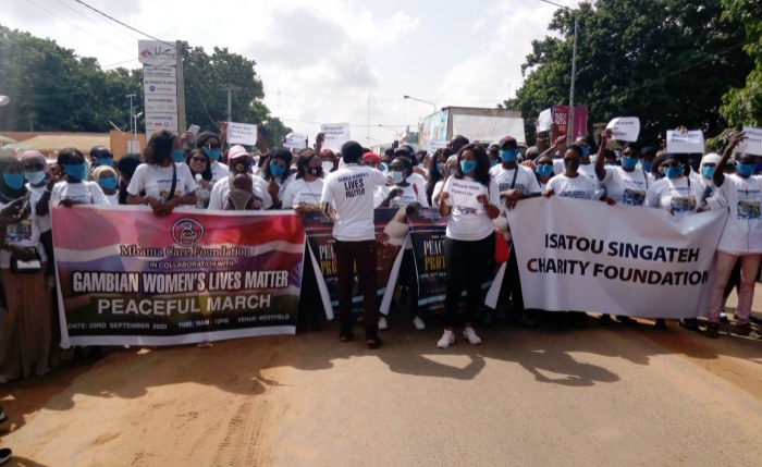 Hundreds Protest Over Alarming Rate of Maternal Deaths in Gambia