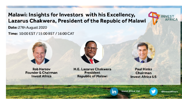 Malawi's President Offers Welcome Map to International Investors