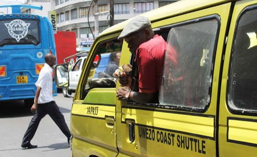 Minibus Taxi Operators Protest After Relocation in Kenyan Town