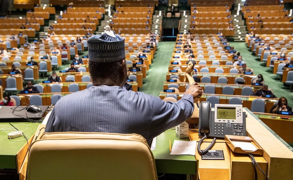 Nigeria's Muhammad-Bande Concludes Term as UNGA President