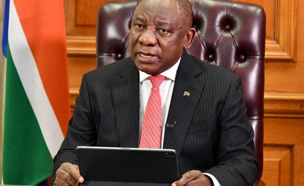 Ramaphosa Eases South Africa's Covid-19 Lockdown