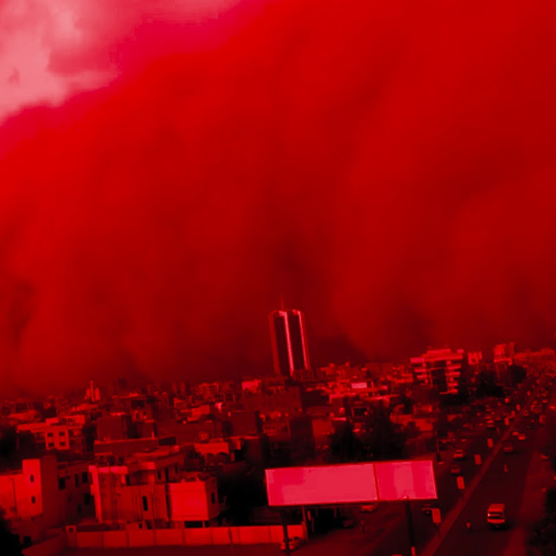 Watch Sudan's Capital Khartoum Turn Blood Red as Its Hit by a Massive Sandstorm