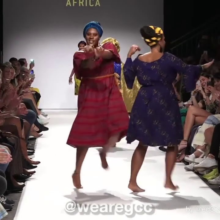 African Models Crush Boring European Fashion Show with Extraordinary Dancing