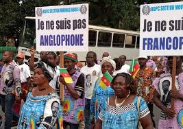 Women in Cameroon #EndAnglophoneCrisis Protest for Peace and Justice