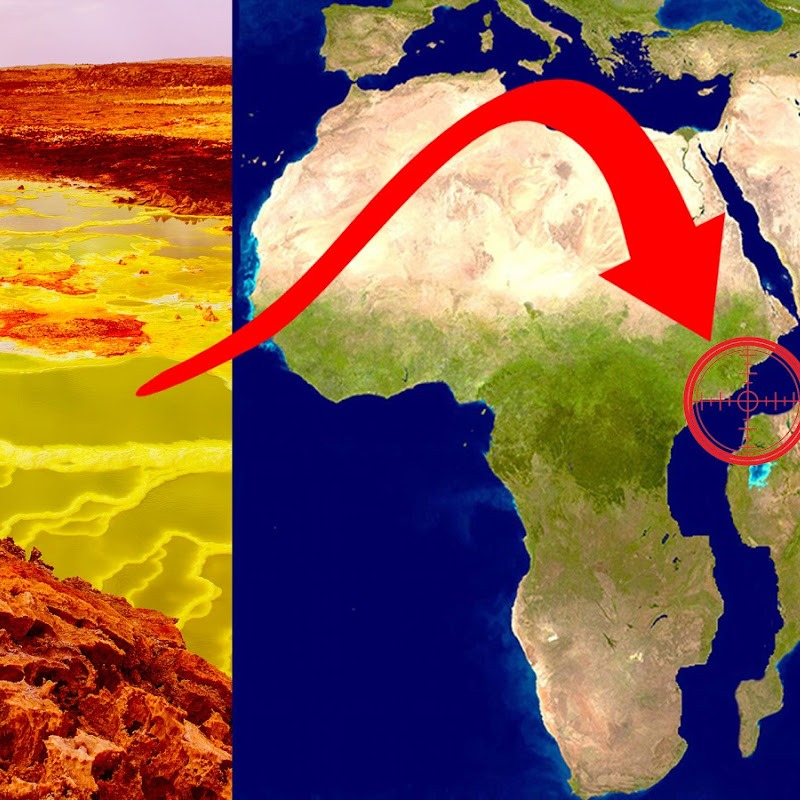 Mysterious Hell Pit of Africa That's Splitting the Continent in Two