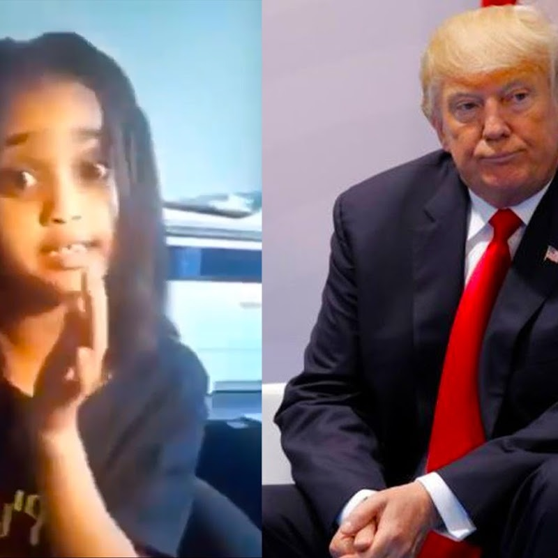 Little African Girl Scolds Trump Over his Stupid Ethiopia 'BLOW UP' Dam Remark