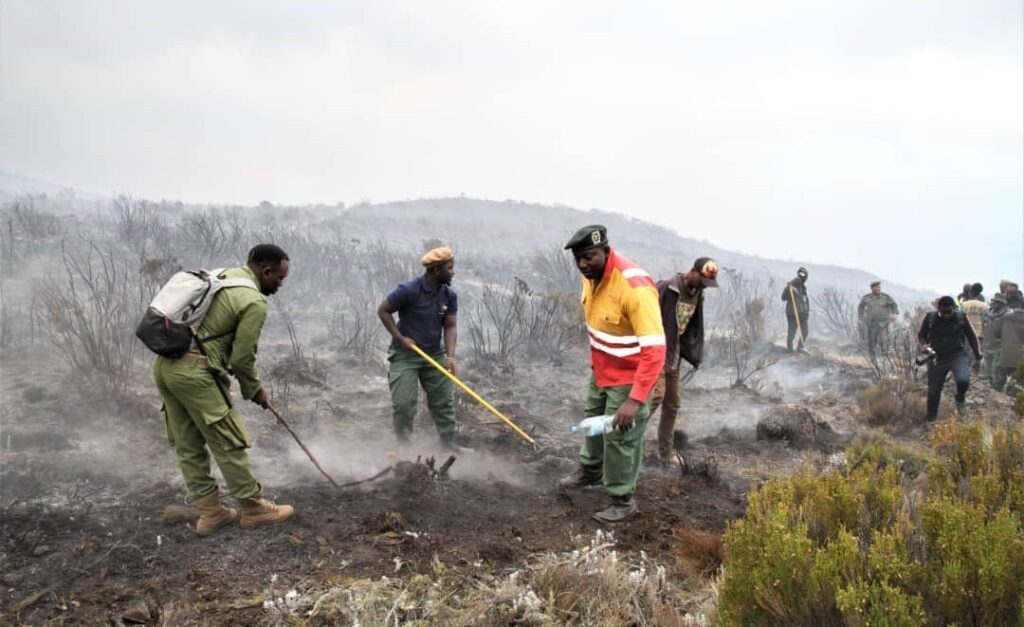 Tanzania Counts the Cost After Three Days of Kilimanjaro Fire
