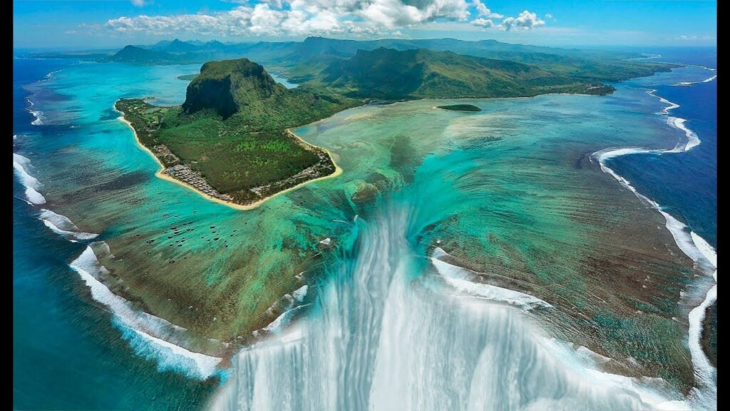 Africa's Secret Unusual Underwater Waterfall