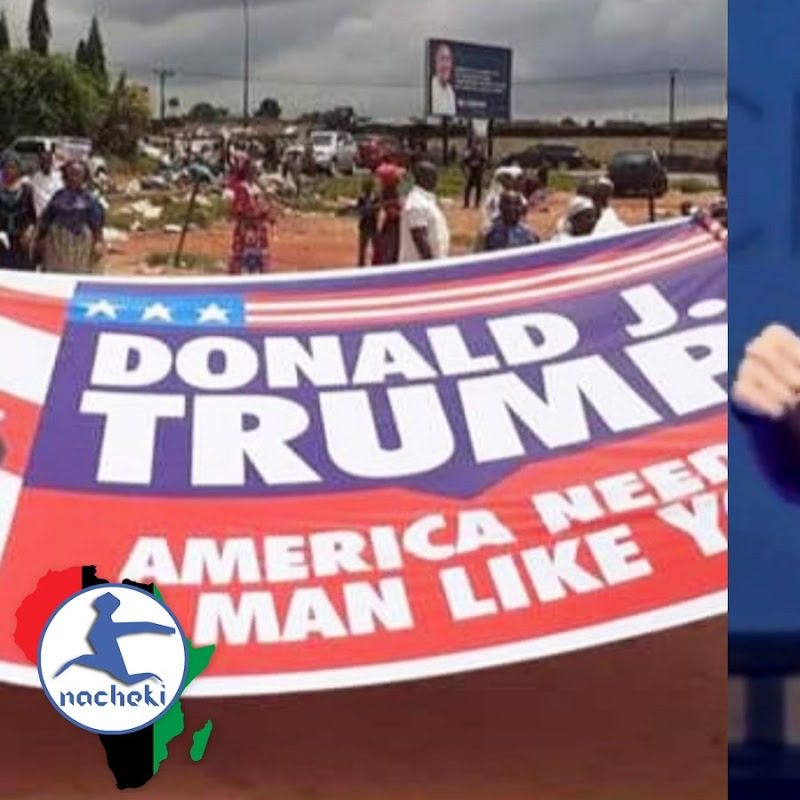 Nigerian Church March for Trump Election Win as He Seeks African Angels for Help