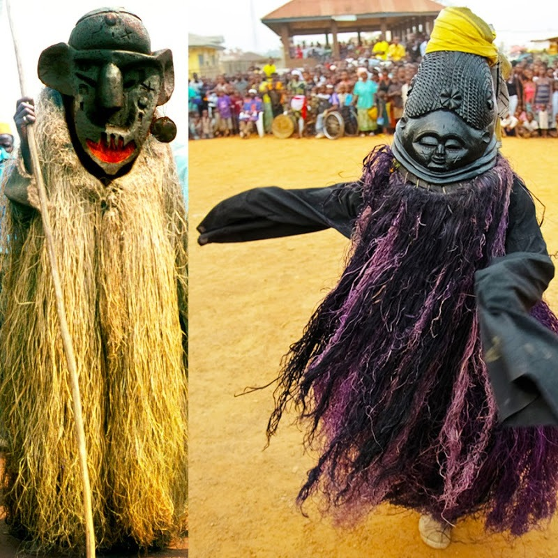 African Dance from Sierra Leone so Ancient You Need a Devil to Teach You