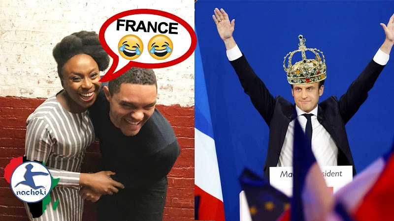 Famous African Writer Chimamanda Destroys France When Answering Racist Question