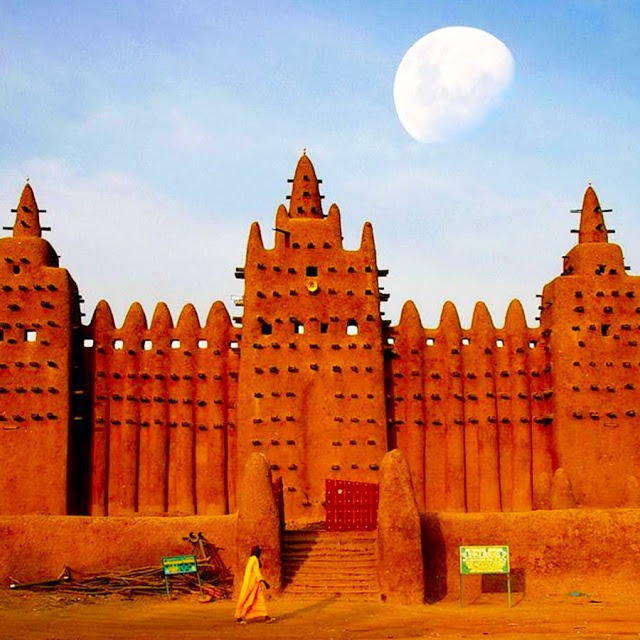 Why Africa's Great Mosque of Djenné Worlds Architectural Marvel was Made of Earth