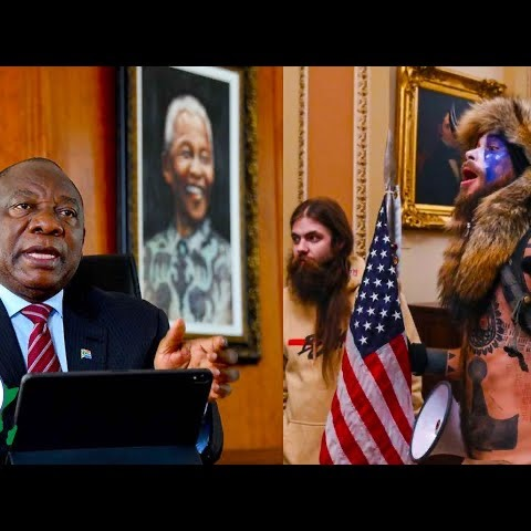 President Ramaphosa Says SA is ready to Help the USA in Democracy After Capitol Attack