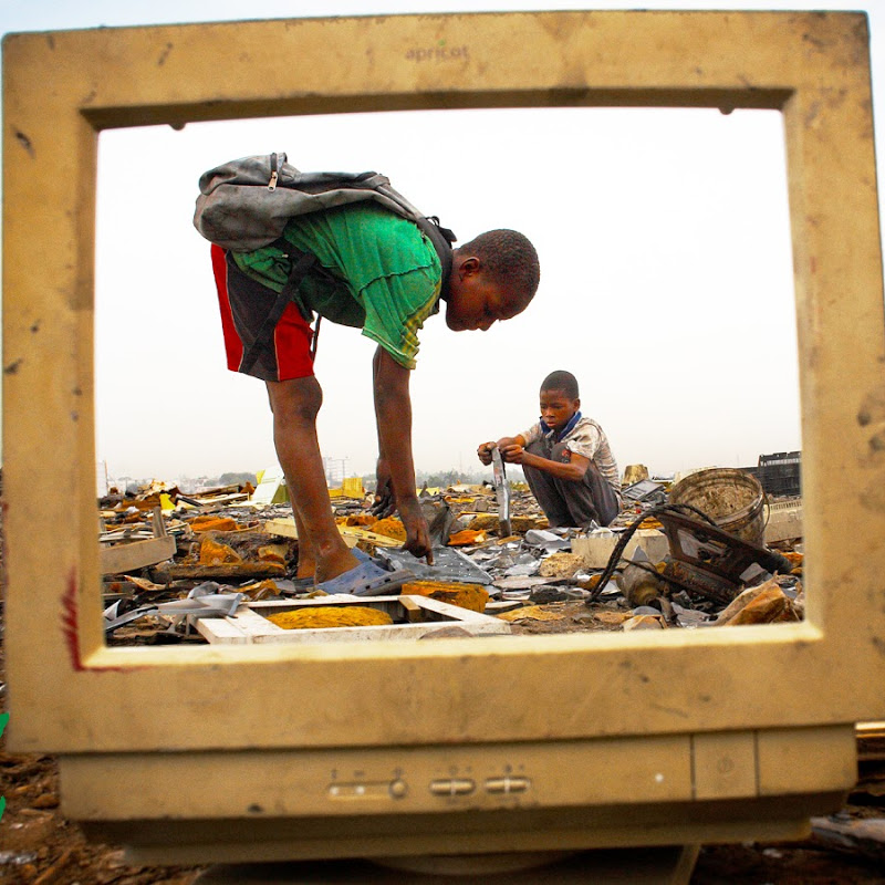Western Countries Purposely Poisoning our African Children with Toxic Waste
