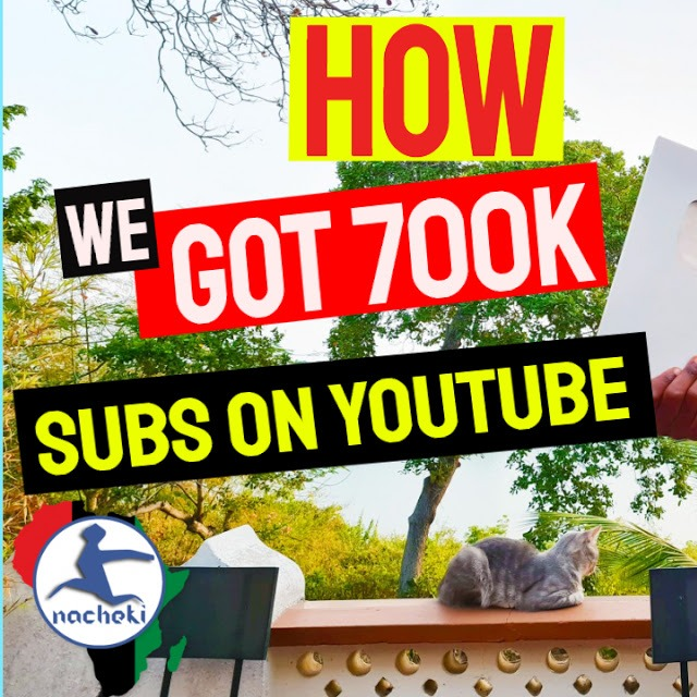 How this Small African Youtube Channel Made it to 700K Subs