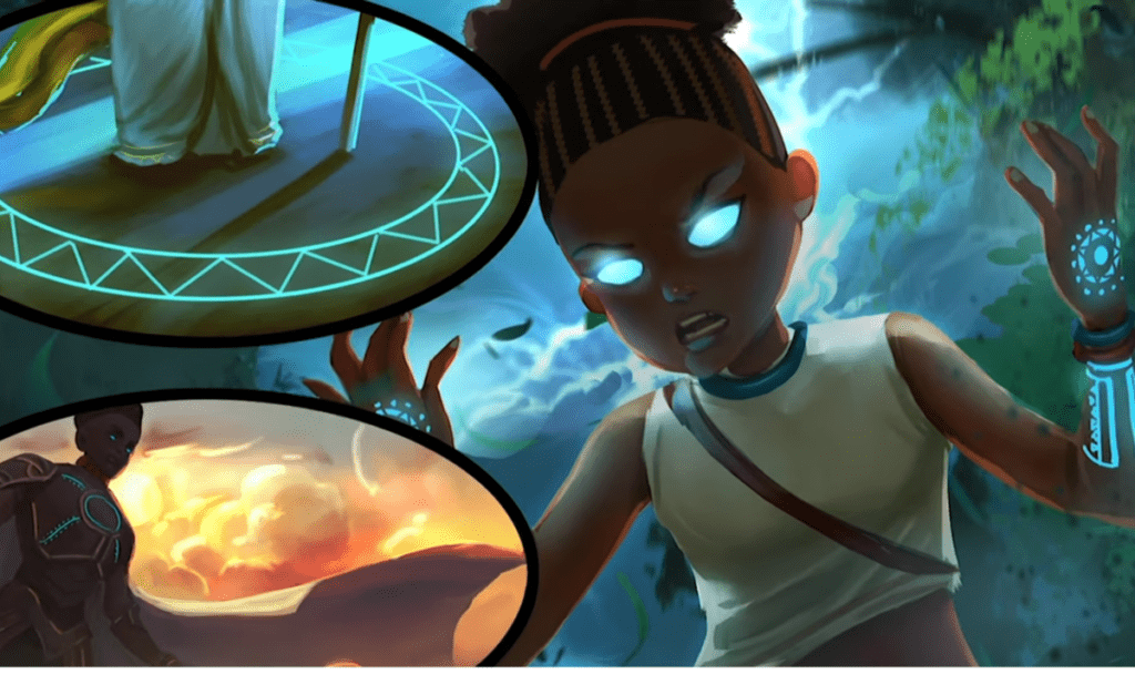 African Superhero Universe Goes from Graphic Novel to Animation