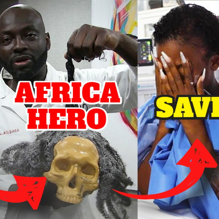 Ghanaian Surgeon Dr Obeng Saves African American Woman Who Gorilla Glued Hair