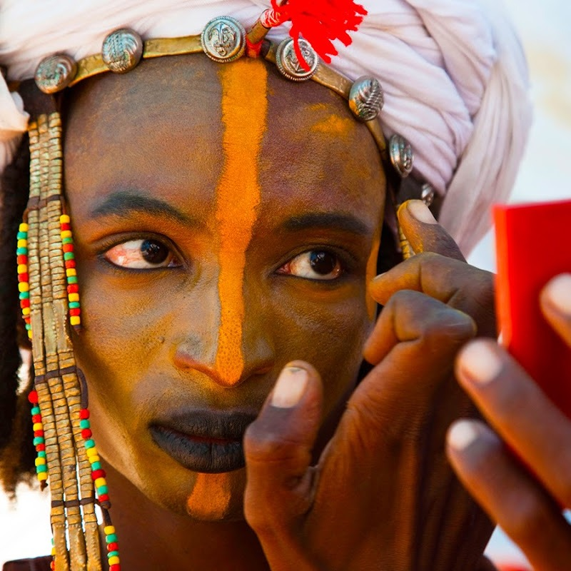Seductive African Men of the Wodaabe the Most Beautiful on the Planet