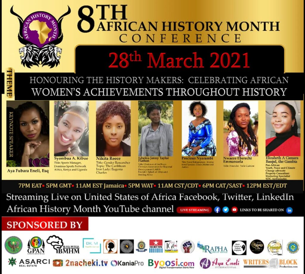 8th African History Month Conference: Celebrating African Women's Achievements