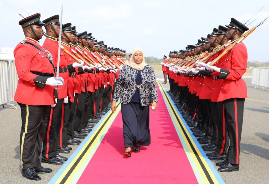 Tanzania Swears in First Female President after Sudden Death of Loved President Magufuli